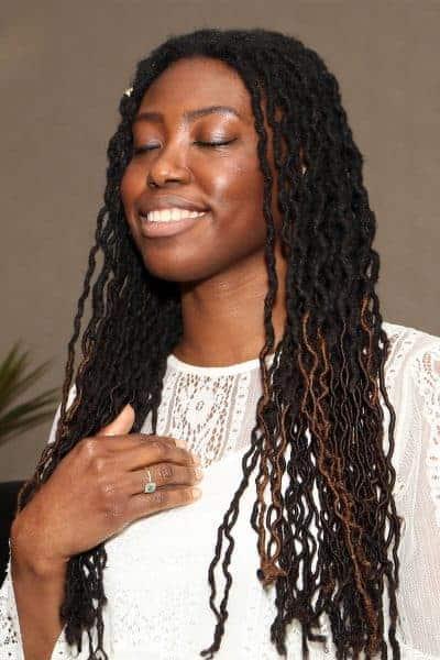 Amelle Meditating